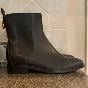 Cole Haan Evan Air Short waterproof leather boots